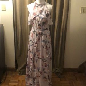 LC Lauren Conrad Maxi dress- chiffon NWT